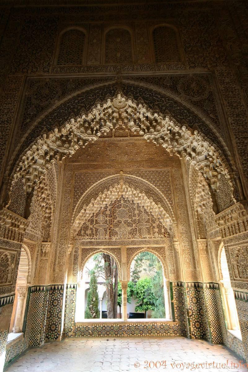 Sala de los Reyes, Alhambra Nasrid Granada - Spain, Andalusia