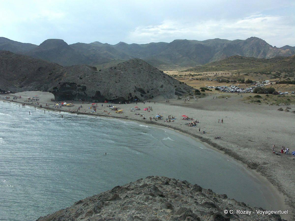 Panorama playa monsul cabo de gata spain andalusia for Cabo de gata spain