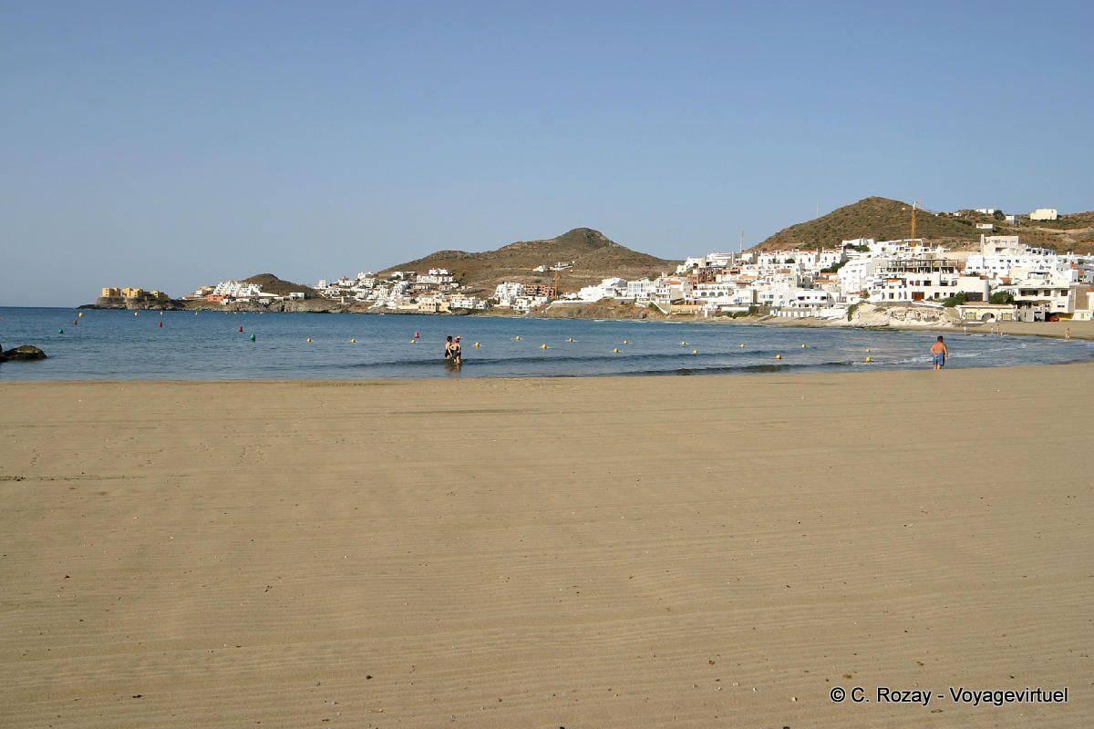 Beach of san jose cabo de gata spain andalusia for Cabo de gata spain