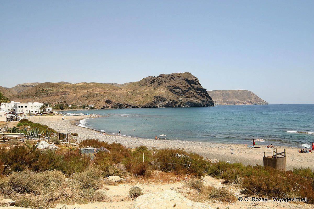 A quiet beach in cabo de gata spain andalusia for Cabo de gata spain