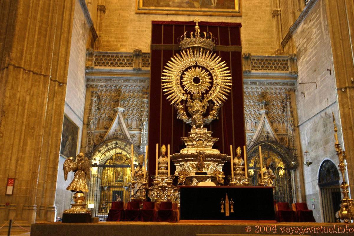 Altar de Plata, Capilla Mayor de la Catedral, Sevilla ...