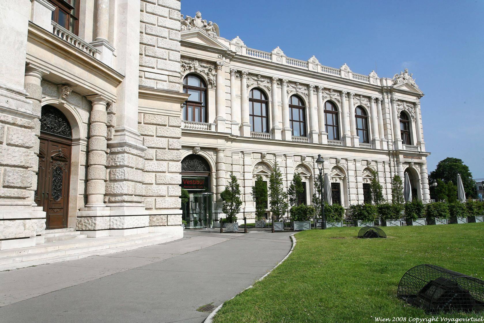 Burgtheater Vestibul Vienna Austria