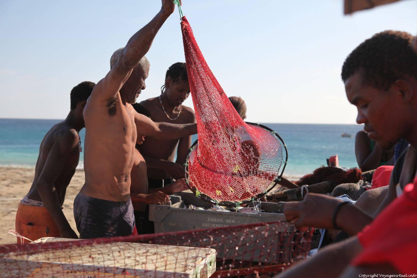 Les places de la pêche sur yamale