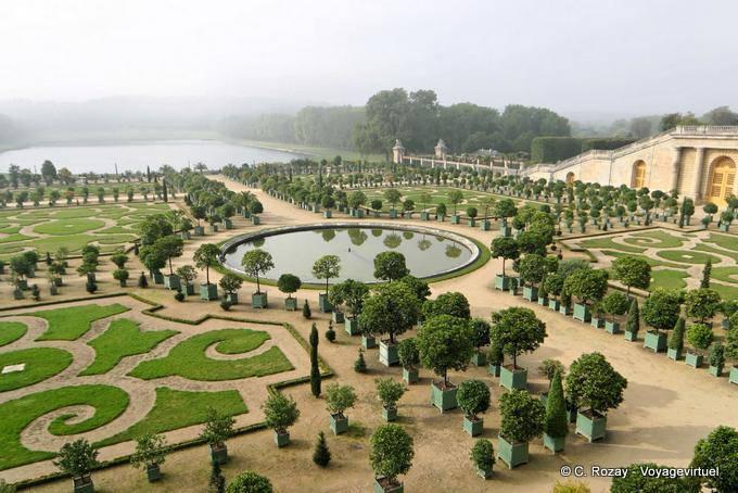 Jardin de l 39 orangerie box orange versailles for Parking parc des expositions versailles