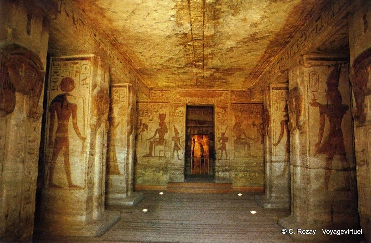 Home Temple Design Interior Ibshek Hypostyle Hall With Six Square Columns Temple Of
