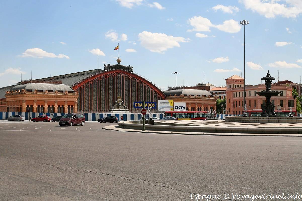 Madrid Atocha Estacion Spain