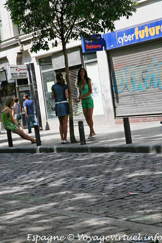 prostitutas publico calles prostitutas madrid