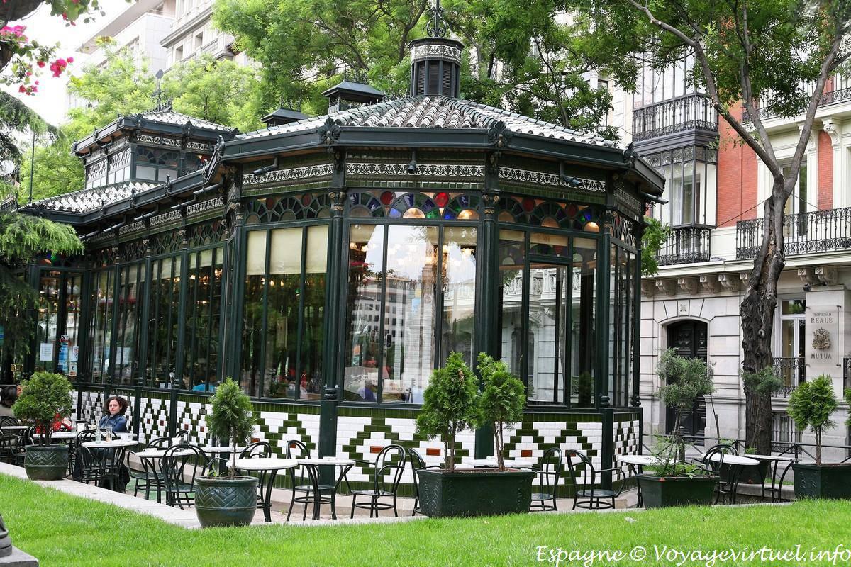 Madrid Paseo De Recoletos Spain