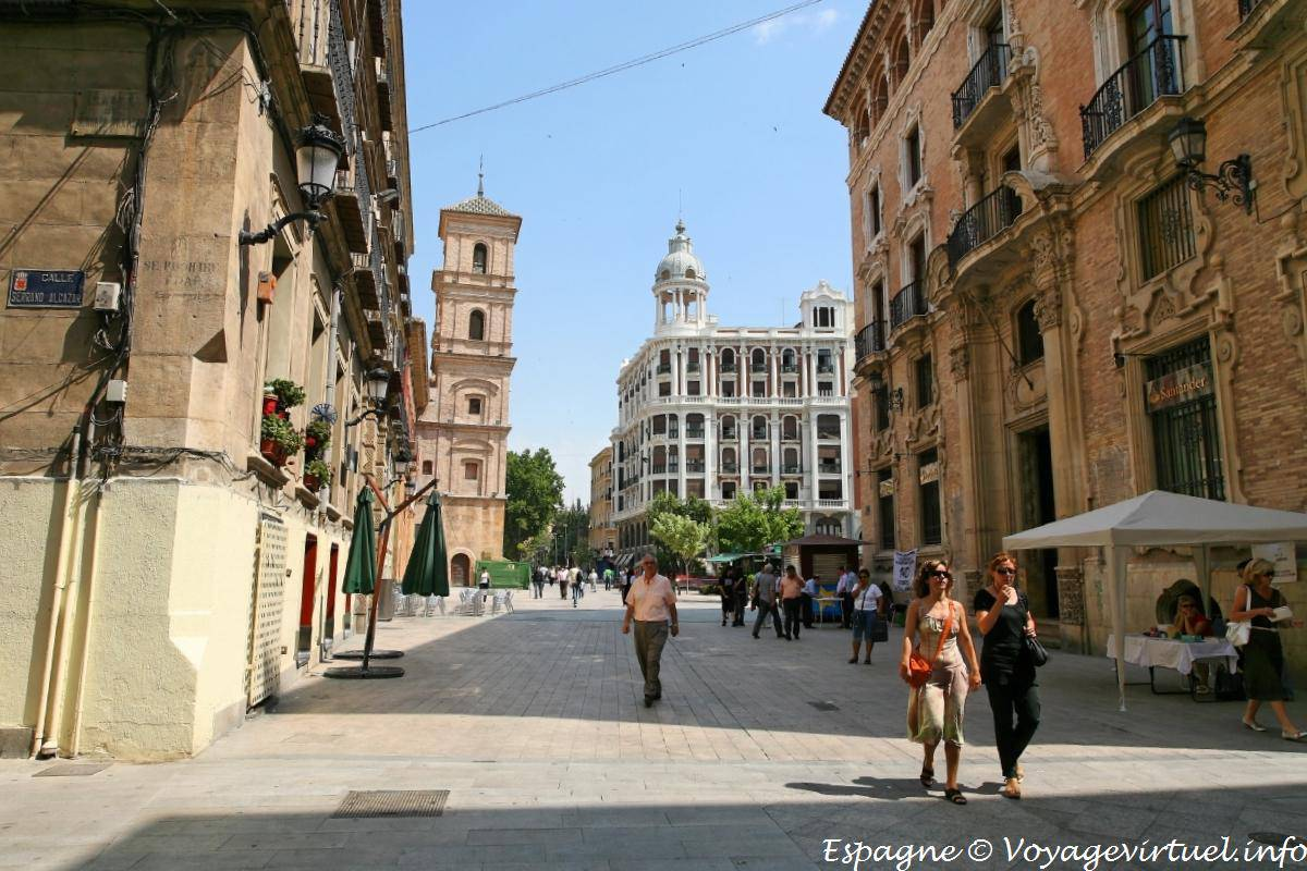 Murcia calle alcazar spain for Calle gloria murcia