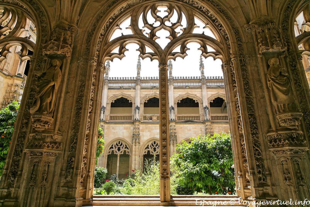 Toledo Monasterio San Juan de Los Reyes, architectural ...