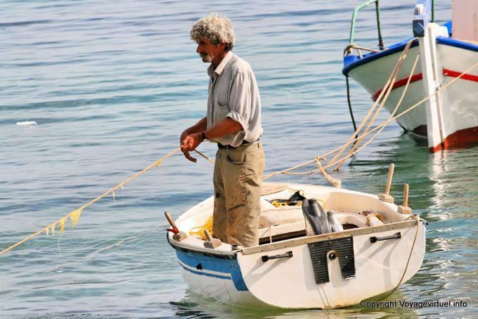 старый рыбак греция
