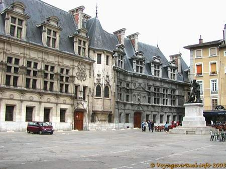 parliament of dauphin architecture grenoble isere france. Black Bedroom Furniture Sets. Home Design Ideas