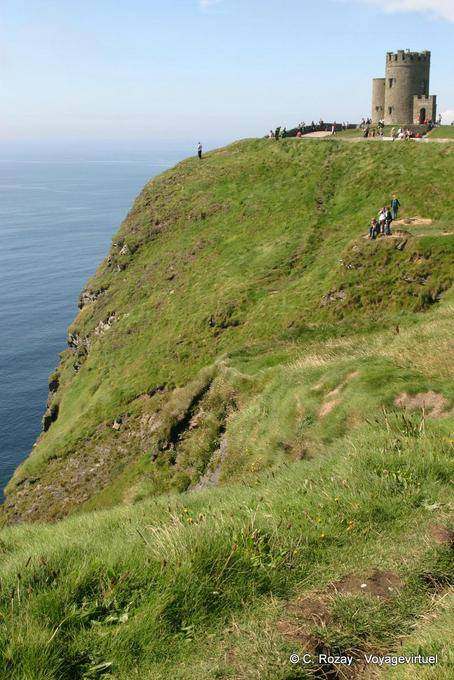 Tour O Brien, Cliffs of Moher, Irlande