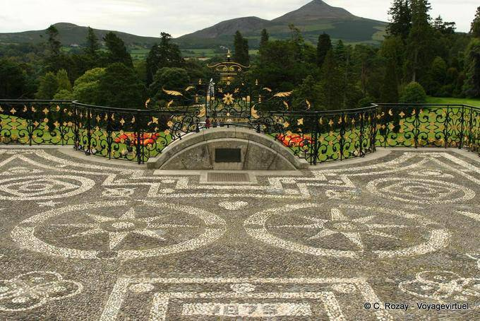 Jardin de Powerscourt, Irlande 5670