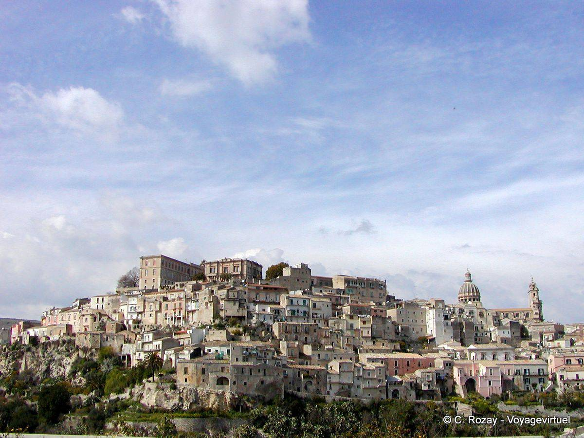 Caltagirone Italy  city photos gallery : Panorama, Caltagirone Italy