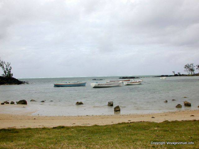 Poudre d'Or, the beach, Mauritius.