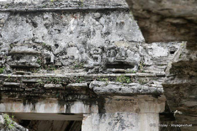 La Palacio de Palenque, detail-2