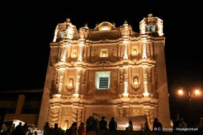 San Cristobal de la Casas, templo Santo Domingo 1