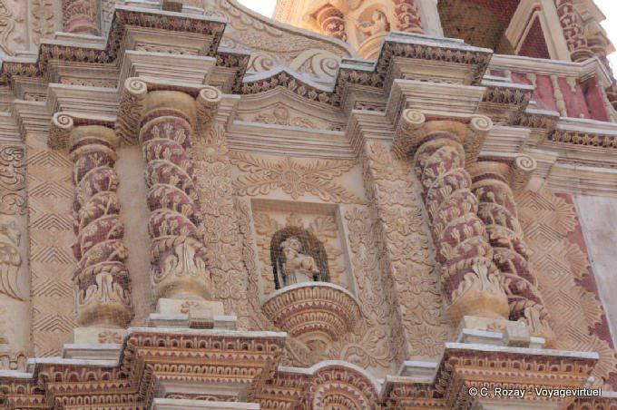 San Cristobal de la Casas, templo Santo Domingo 2