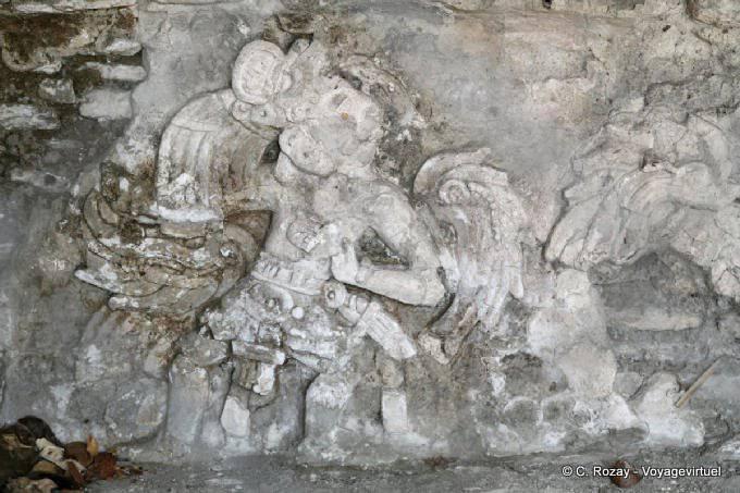 Toniná cité maya 125