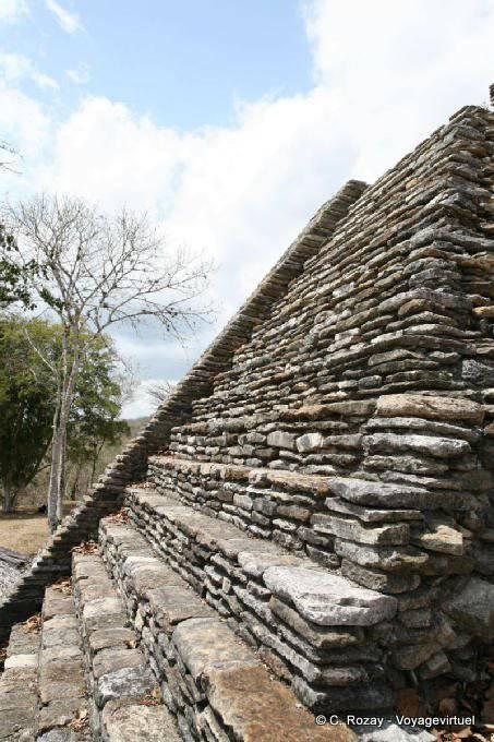 Toniná cité maya 37