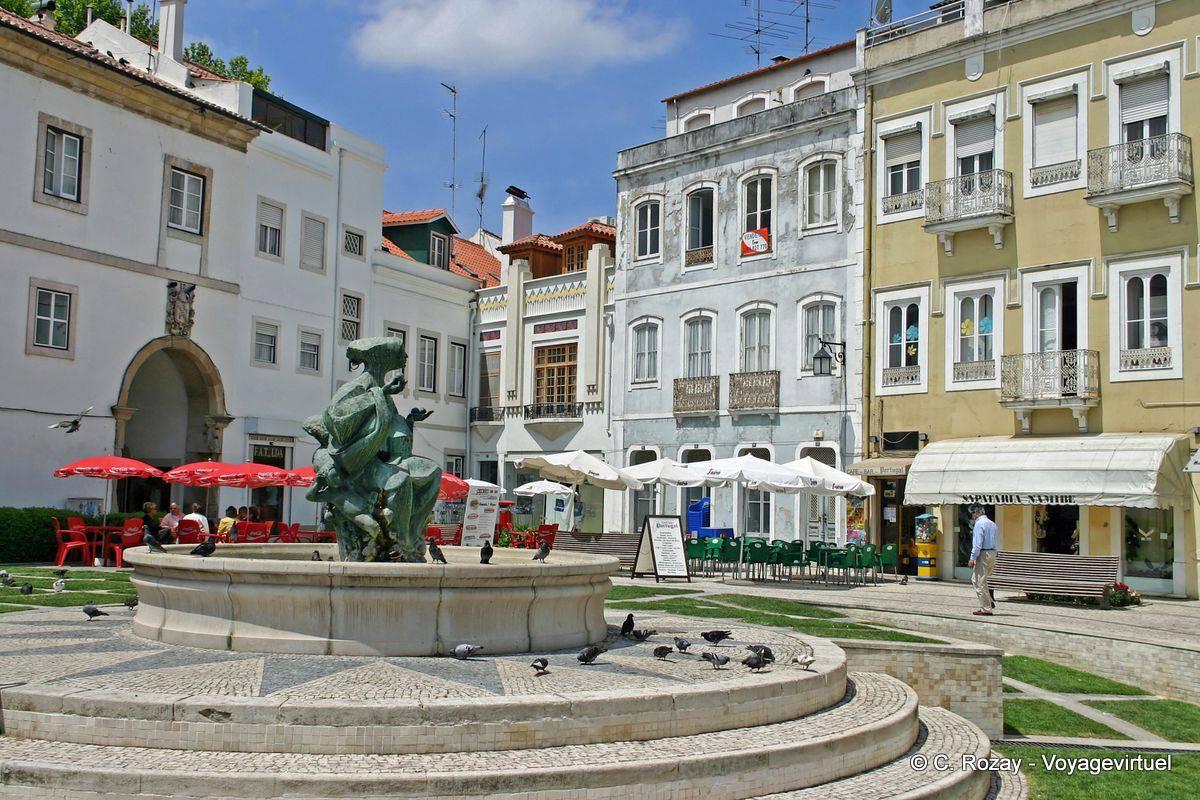 Alcobaca Portugal  city photos : The Republic Square, Alcobaça Portugal