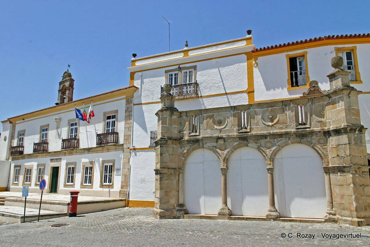 Crato Portugal  City new picture : Crato, Câmara Municipal, Praça do Município Portugal