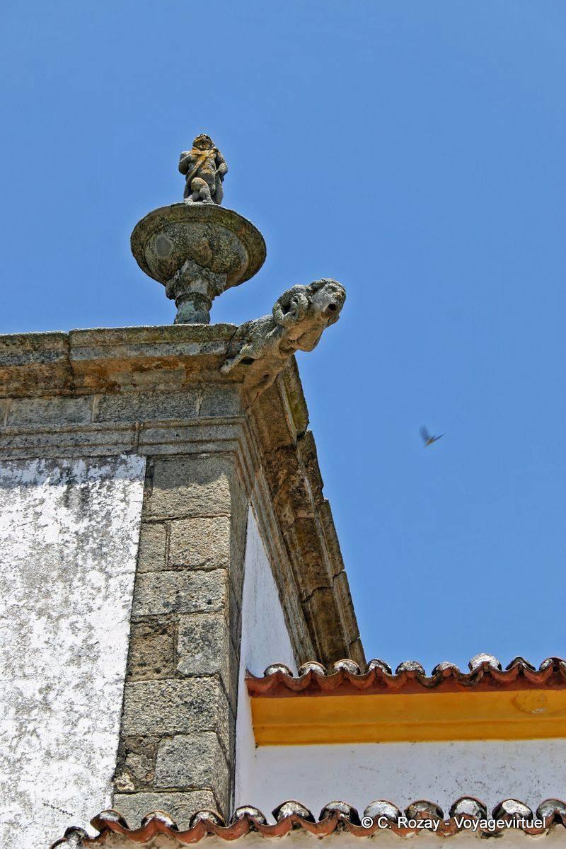 Crato Portugal  city photo : Gargoyle of the church of Crato Portugal