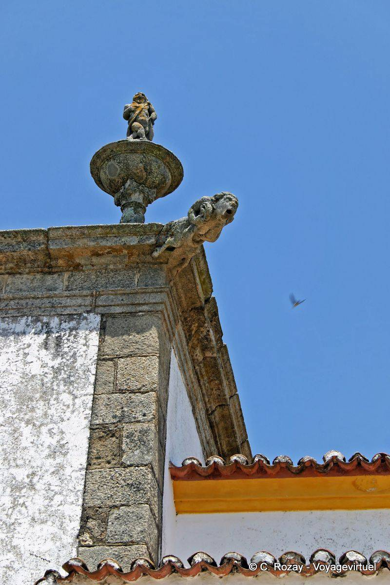 Crato Portugal  city photos gallery : Gargoyle of the church of Crato Portugal