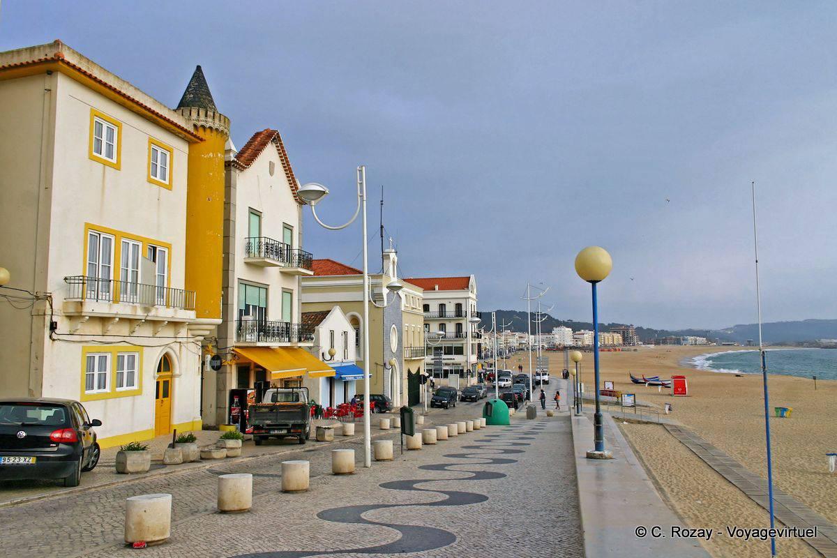 Walking route Rua do Soberco, Nazaré - Portugal