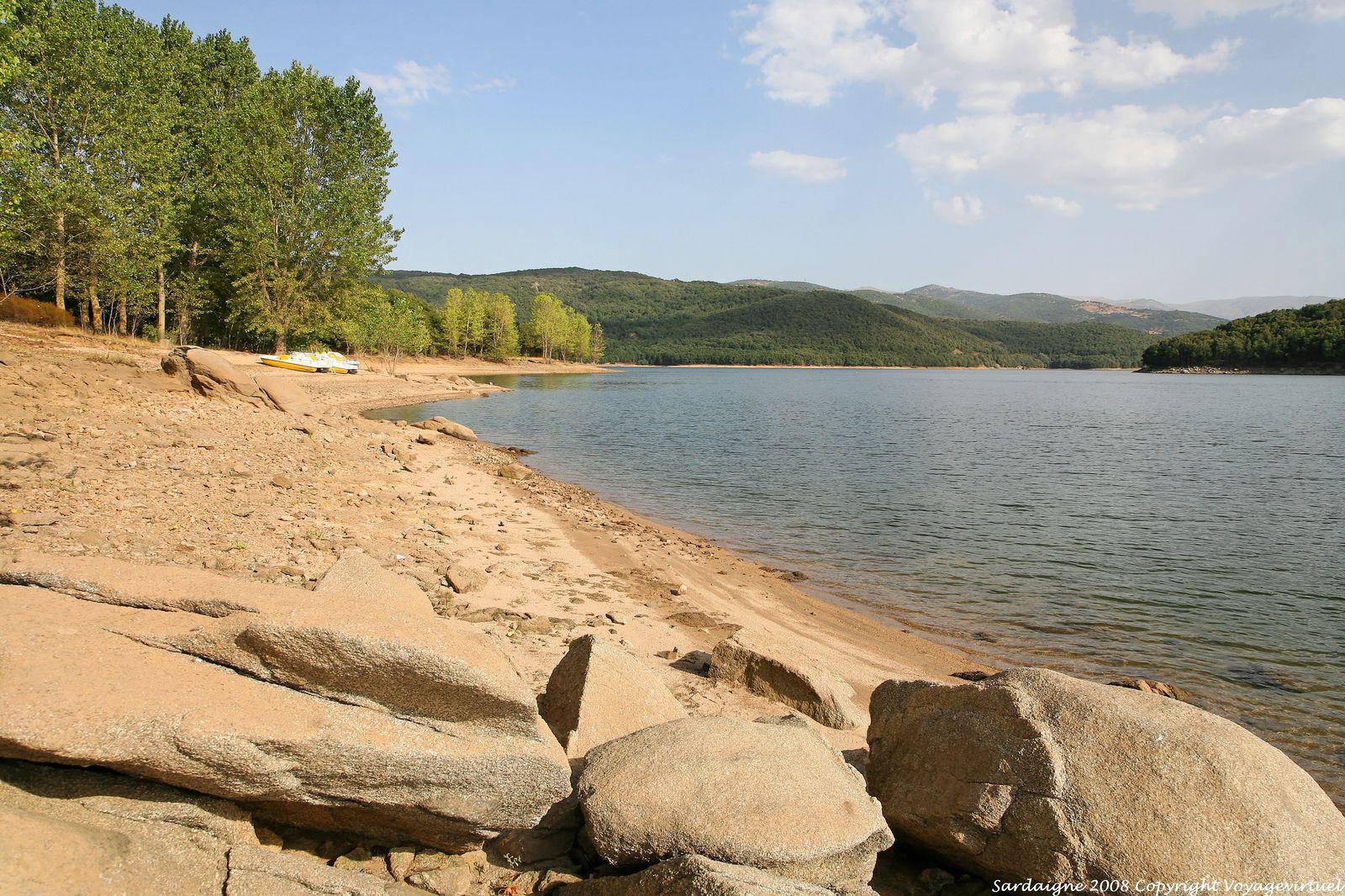 Gavoi Lake Gusana Sardinia