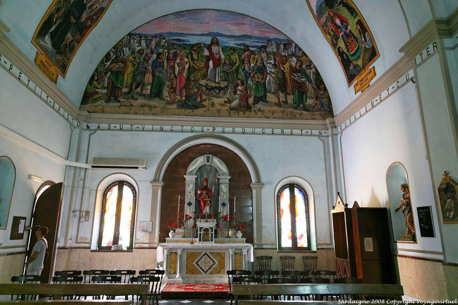 Olbia san paolo apostolo san silverio chapel sardinia for Large apartment in san paolo