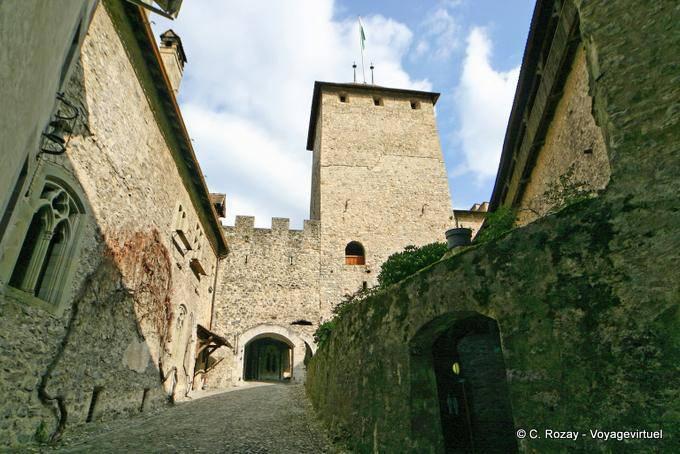 Roundtrip Chillon Castle Montreux Switzerland