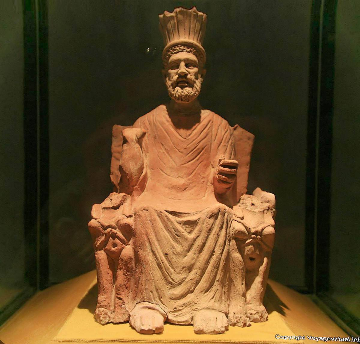 ba al hammon thinissut king in the light terracotta