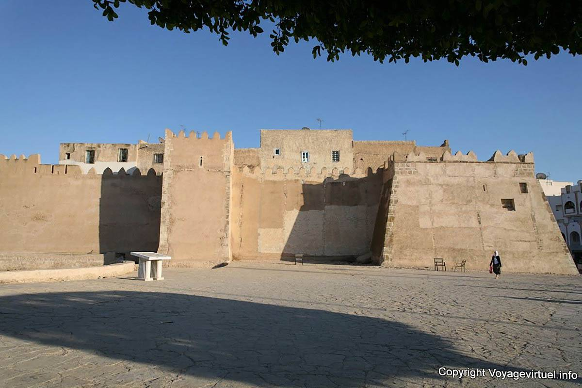 Sfax Walls Of The Medina To The Bus Station Tunisia