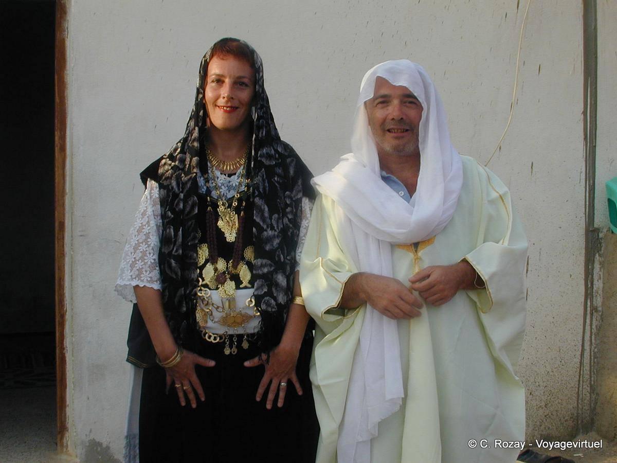 virtual wedding in douz tunisia