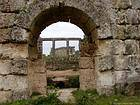 Another view of the Roman baths of Perge, Turkey.