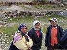 Smiles of Turkish women, Selge, Turkey.